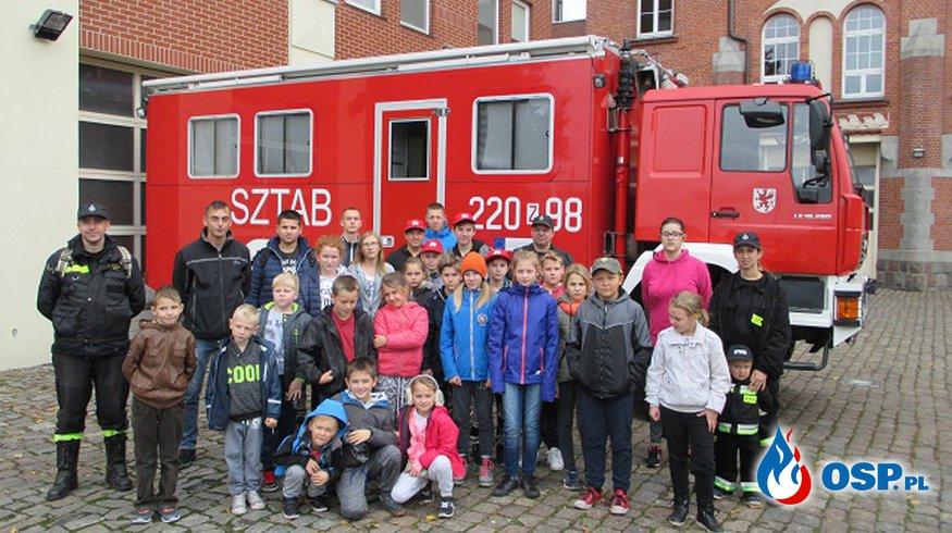 Wycieczka Młodzieżowych Drużyn Pożarniczych Gminy Trzebiatów OSP Ochotnicza Straż Pożarna