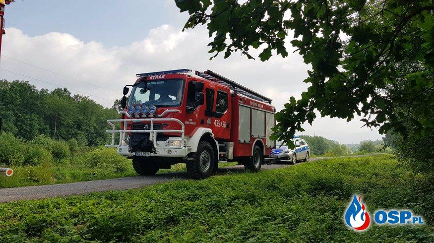 Nietypowa akcja z bykiem w roli głównej OSP Ochotnicza Straż Pożarna
