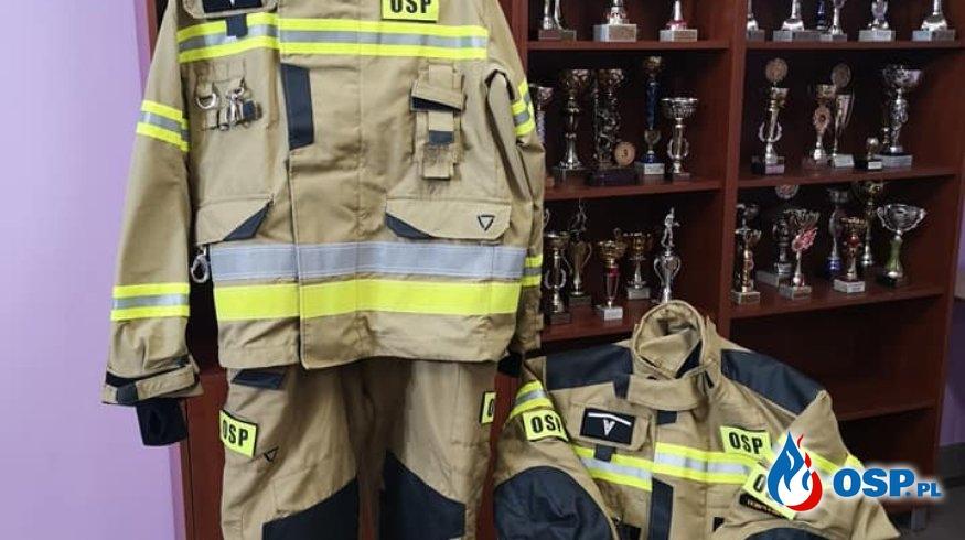 No to mamy kolejny nowy sprzęt i środki ochrony indywidualnej! OSP Ochotnicza Straż Pożarna