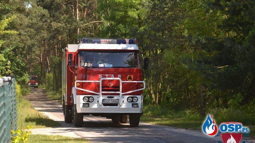 Zabezpieczenie ćwiczeń wojewódzkich  OSP Ochotnicza Straż Pożarna
