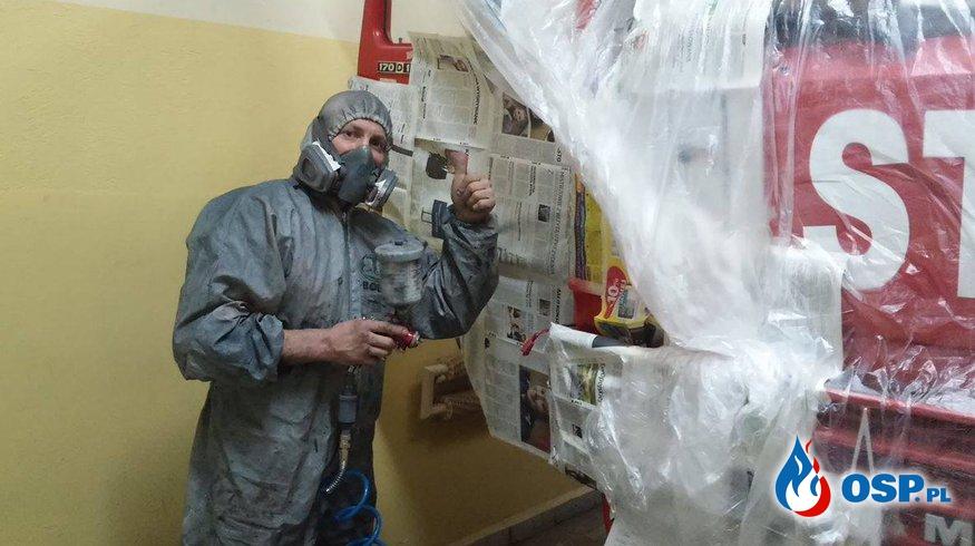 Renowacja Magirusa! OSP Ochotnicza Straż Pożarna