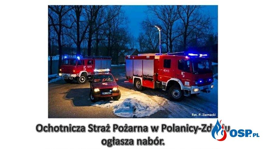 OSP Polanica-Zdrój ogłasza nabór! OSP Ochotnicza Straż Pożarna