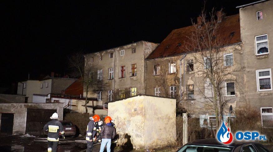 Ofiara pożaru OSP Ochotnicza Straż Pożarna