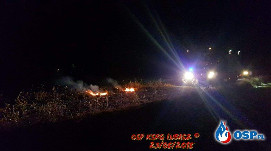 Pożar trawy OSP Ochotnicza Straż Pożarna