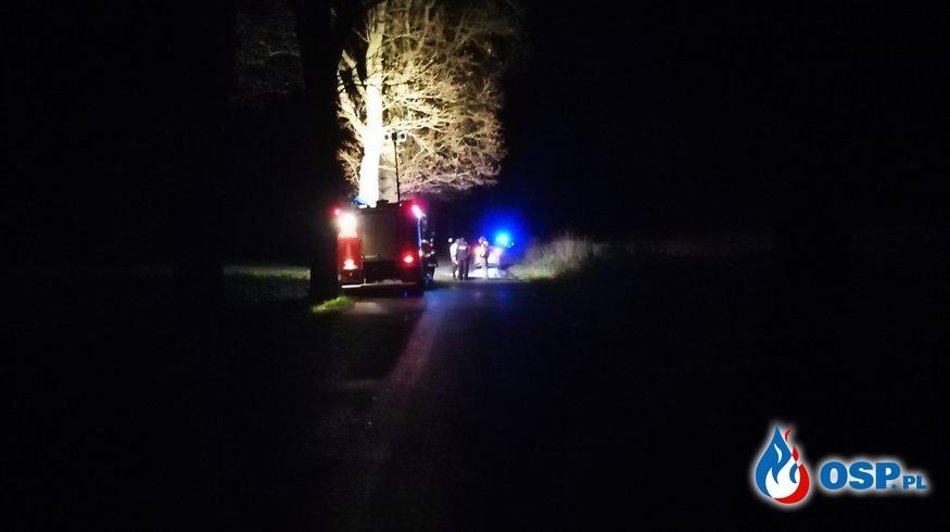 Wypadek koło Przyjezierza OSP Ochotnicza Straż Pożarna