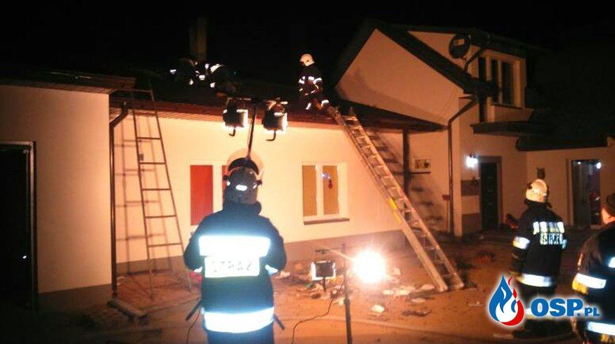 01:40 - nocny alarm OSP Ochotnicza Straż Pożarna
