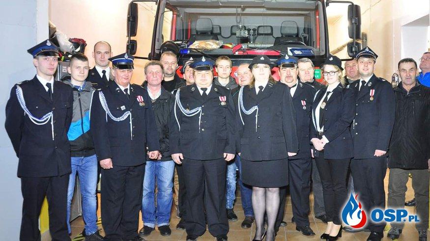 Po zebraniu sprawozdawczym... OSP Ochotnicza Straż Pożarna