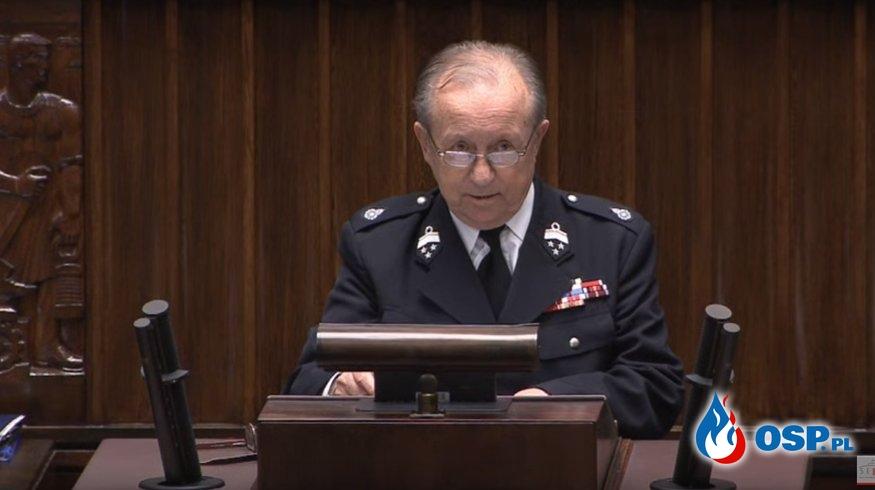 Dodatek emerytalny dla strażaków OSP w Sejmie. Za nami pierwsze czytanie projektu ustawy. OSP Ochotnicza Straż Pożarna