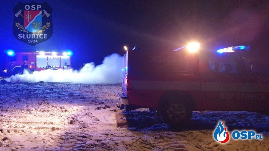 Duże płomienie zaniepokoiły mieszkańców [WIDEO] OSP Ochotnicza Straż Pożarna