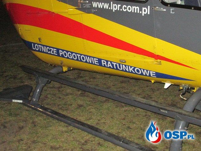 Szkolenie z zakresu obsługi lądowiska LPR. OSP Ochotnicza Straż Pożarna