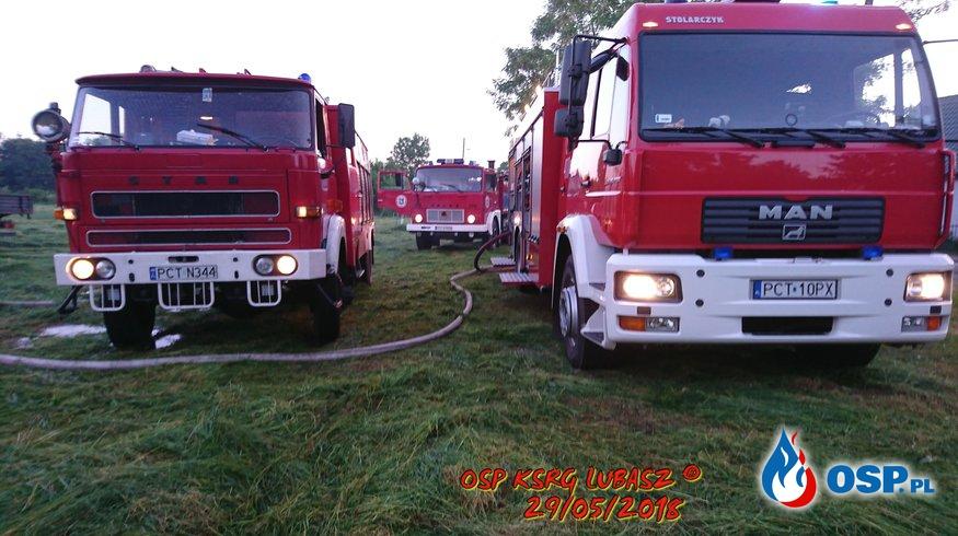 Pożar Hali Produkcyjnej OSP Ochotnicza Straż Pożarna