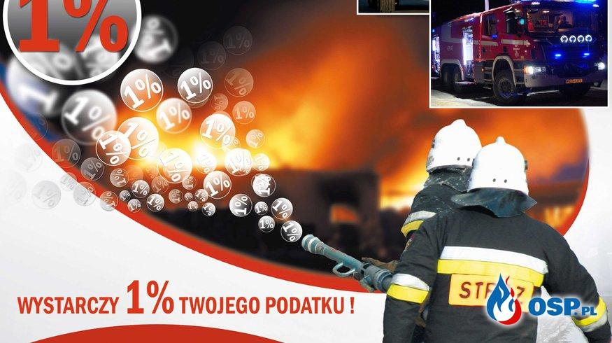 1 % podatku dla Ochotniczej Straży Pożarnej w Trzcinicy OSP Ochotnicza Straż Pożarna