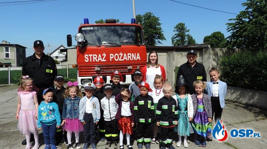 Wizyta w przedszkolu OSP Ochotnicza Straż Pożarna