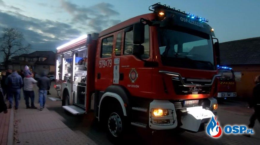 Nowy GBA MAN TGM 18.320 dla naszej jednoski OSP Ochotnicza Straż Pożarna