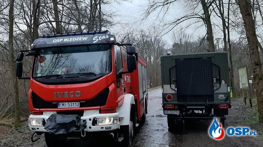 Pomoc saperom OSP Ochotnicza Straż Pożarna