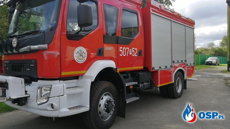 Nowy samochód dla OSP Międzychód OSP Ochotnicza Straż Pożarna