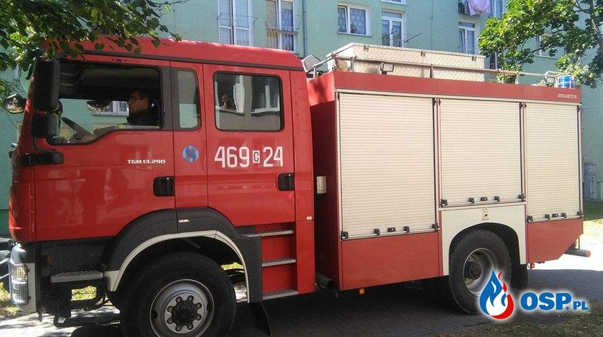 08.06.18 14:41 - ZADYMIENIE W BUDYNKU MIESZKALNYM, JANIKOWO - ul. Ogrodowa 4  OSP Ochotnicza Straż Pożarna