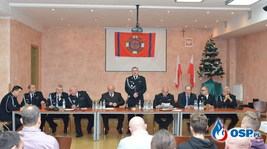 Walne Zebranie Sprawozdawczo-Wyborcze OSP Ochotnicza Straż Pożarna