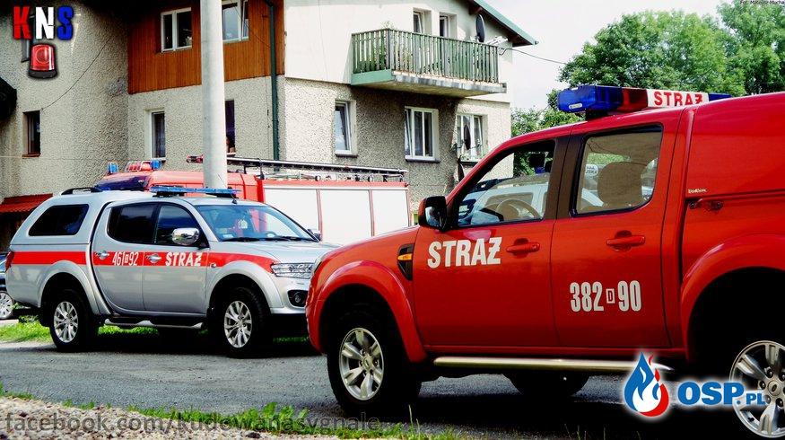 Wezwanie do niebezpiecznej substancji ! OSP Ochotnicza Straż Pożarna