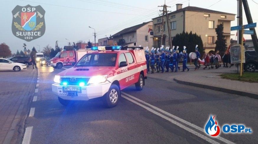 Uroczyste obchody Narodowego Święta Niepodległości OSP Ochotnicza Straż Pożarna