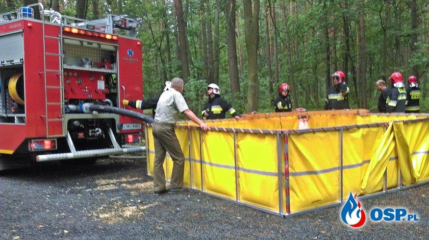Las 2017 - Ćwiczenia Przyjezierze OSP Ochotnicza Straż Pożarna