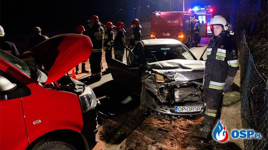 Wypadek w Żelaźnie! OSP Ochotnicza Straż Pożarna