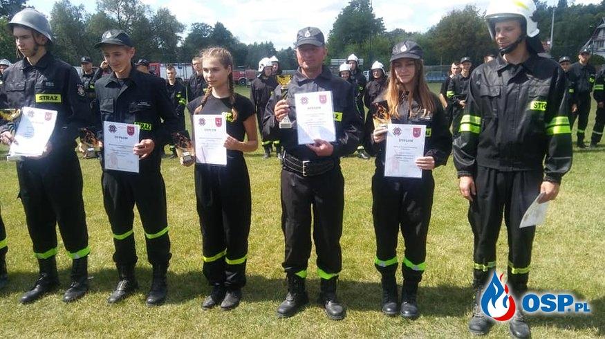 Gminne zawody sportowo - pożarnicze w Nałęczowie 2019 OSP Ochotnicza Straż Pożarna