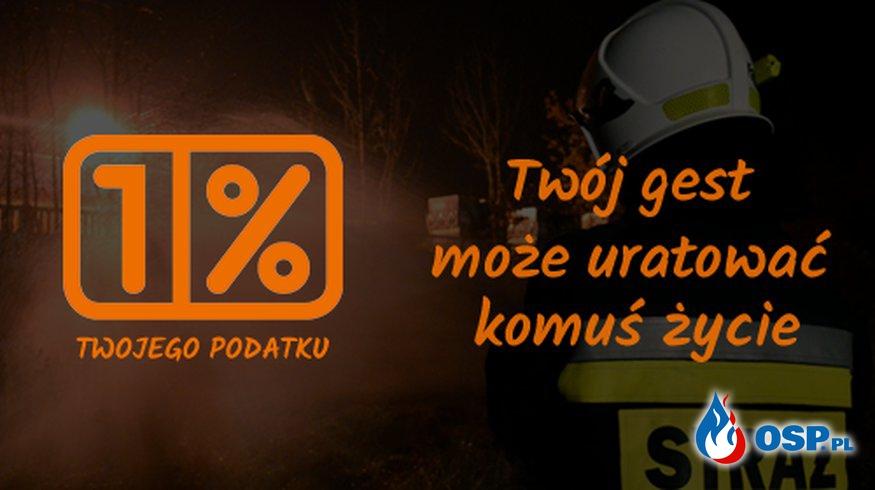 1% dla Osp Orpelów! OSP Ochotnicza Straż Pożarna