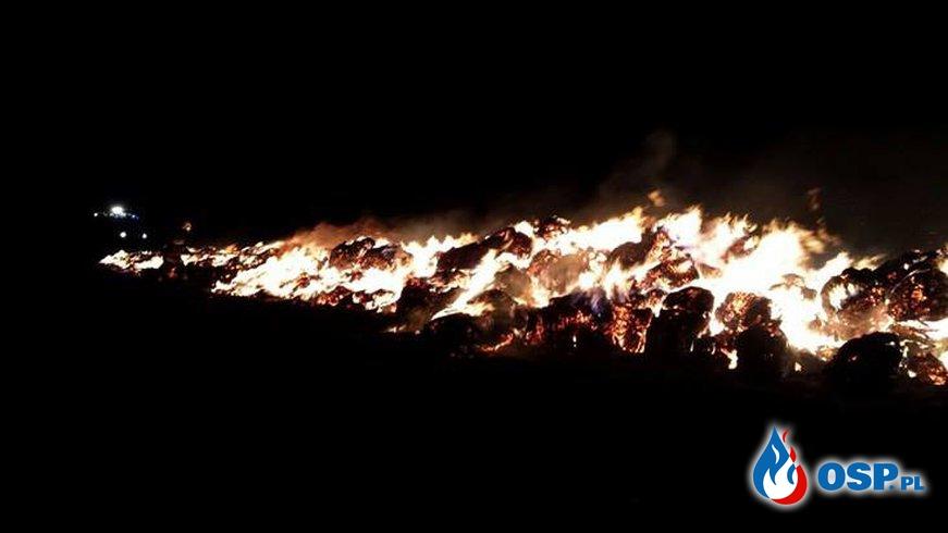 [5/2016] Pożar stogu słomy Żytna OSP Ochotnicza Straż Pożarna