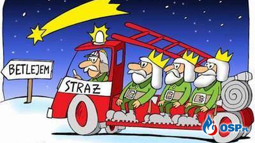Wesołych Świąt ! ho ho ho OSP Ochotnicza Straż Pożarna