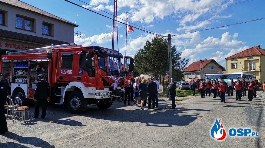 gminny Dzień Strażaka i poświęcenie nowego samochodu OSP Drwinia OSP Ochotnicza Straż Pożarna