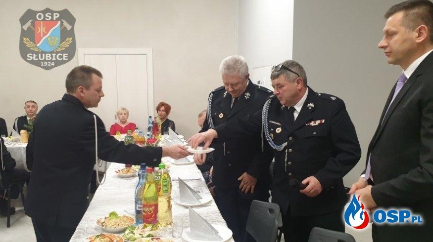 Spotkanie świąteczno-noworoczne w strażnicy OSP w Słubicach OSP Ochotnicza Straż Pożarna