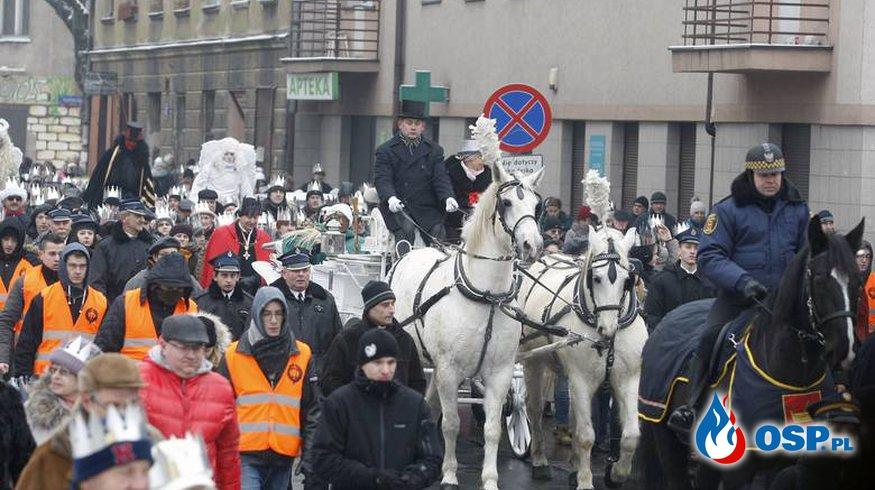 Festyn Trzech Króli w Łodzi OSP Ochotnicza Straż Pożarna