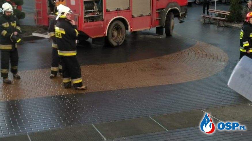 Pożar instalacji elektrycznej w sanatorium Kujawiak OSP Ochotnicza Straż Pożarna