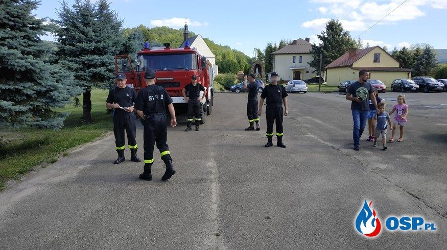 Zabezpieczenie XIII  Kermeszu Karpackich Smaków OSP Ochotnicza Straż Pożarna