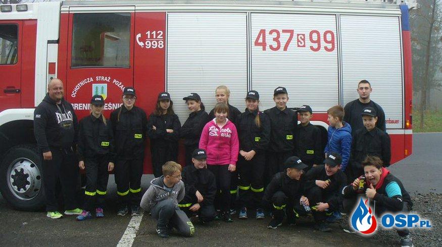 Ćwiczenia MDP dziewcząt OSP Ochotnicza Straż Pożarna