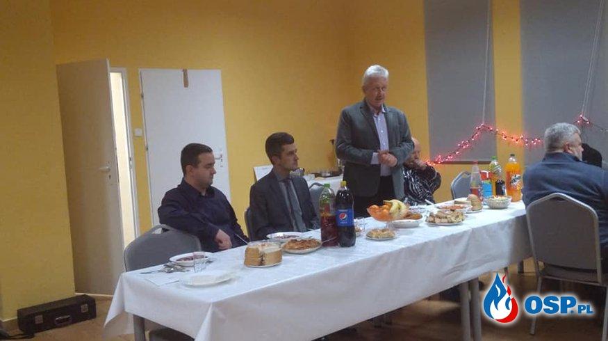 Spotkanie świąteczne członków Orkiestry Dętej OSP Ochotnicza Straż Pożarna