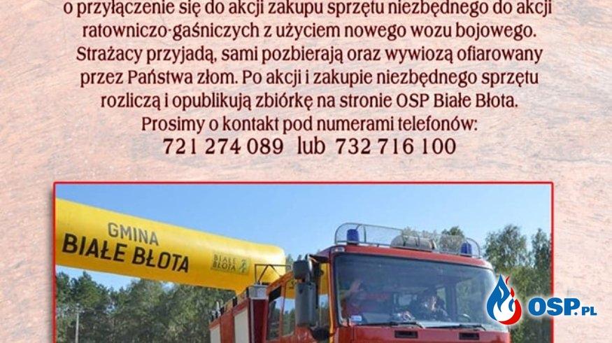 PROSIMY O POMOC! OSP Ochotnicza Straż Pożarna