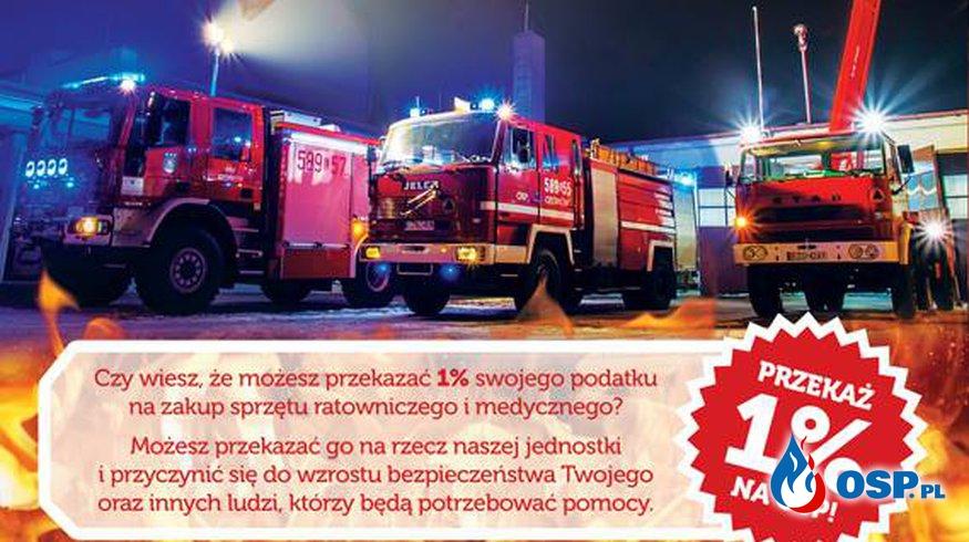 Pomóż Nam. Przekaż 1% swojego podatku na Ochotniczą Straż Pożarną w Ozorkowie OSP Ochotnicza Straż Pożarna