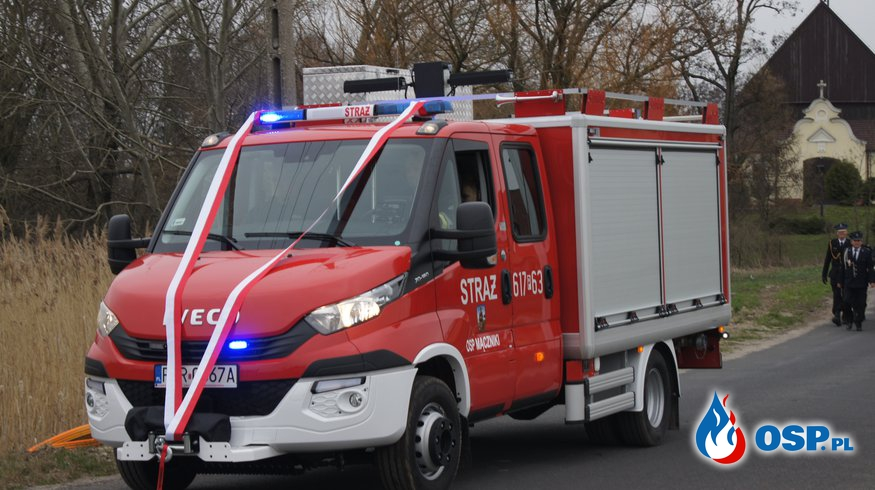 Poświęcenie nowego wozu bojowego OSP Ochotnicza Straż Pożarna