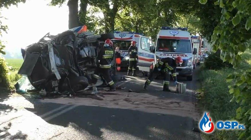 Kierowca karetki pogotowia z zarzutami za śmierć strażaka. OSP Ochotnicza Straż Pożarna