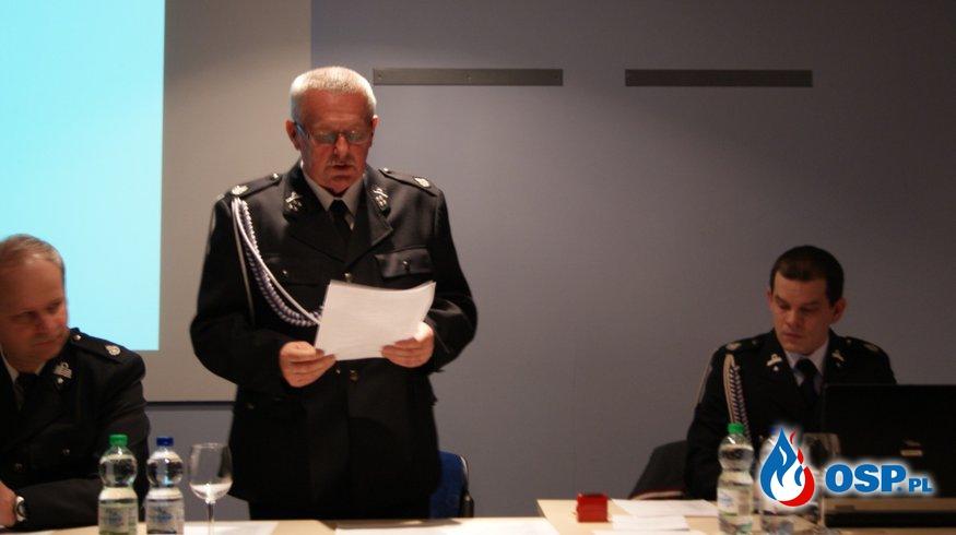 Amica - zebranie sprawozdawczo - wyborcze OSP Ochotnicza Straż Pożarna