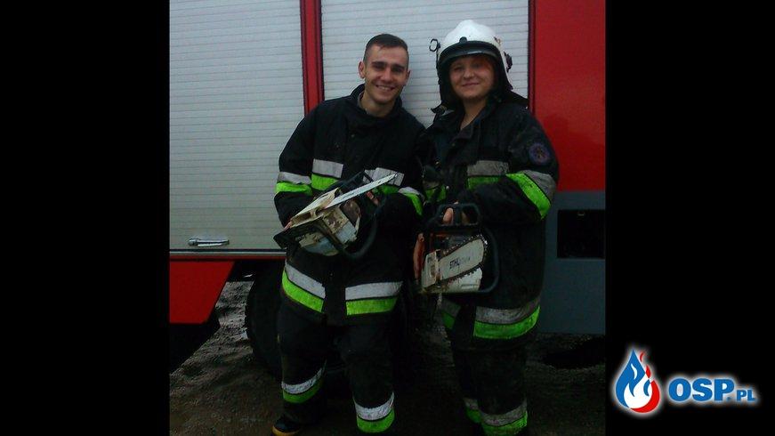 Za mundurem panowie sznurem OSP Ochotnicza Straż Pożarna