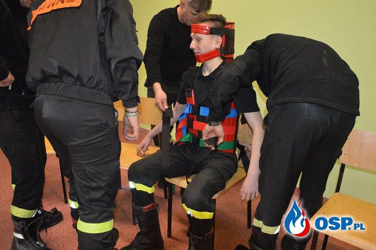 Wycieczka MDP do WSP BUDOWO OSP Ochotnicza Straż Pożarna