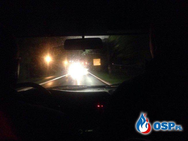 Nocne poszukiwania OSP Ochotnicza Straż Pożarna