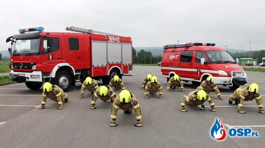 Ogromny sukces akcji #GaszynChallenge. Zebrano ponad milion złotych! OSP Ochotnicza Straż Pożarna