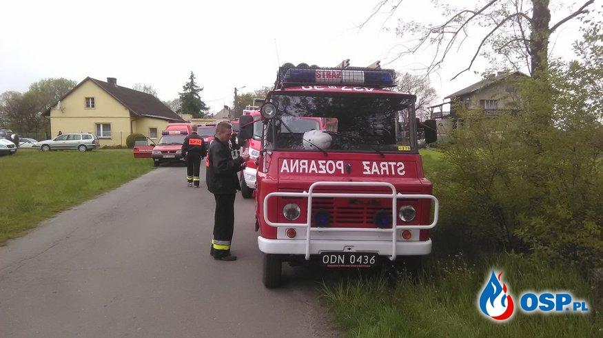 Poszukiwania osoby zaginionej w dniu 1.05.2016 OSP Ochotnicza Straż Pożarna