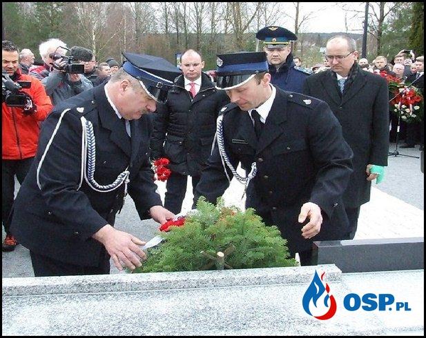 Poświęcenie odnowionego wojennego cmentarza z udziałem OSP Milejczyce OSP Ochotnicza Straż Pożarna