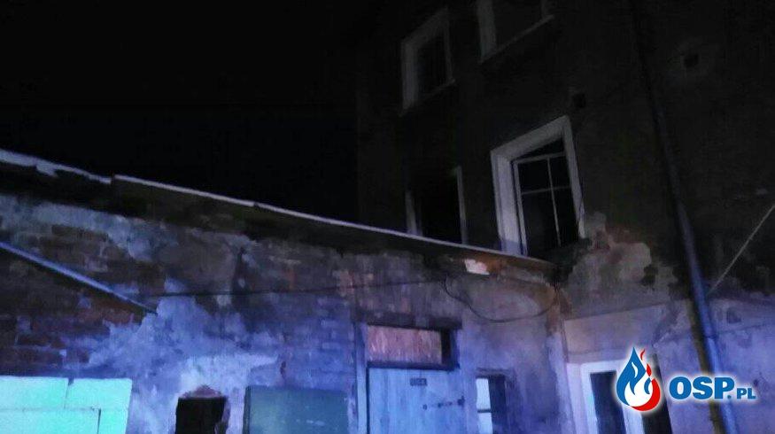 Pożar mieszkania w Lubawce OSP Ochotnicza Straż Pożarna