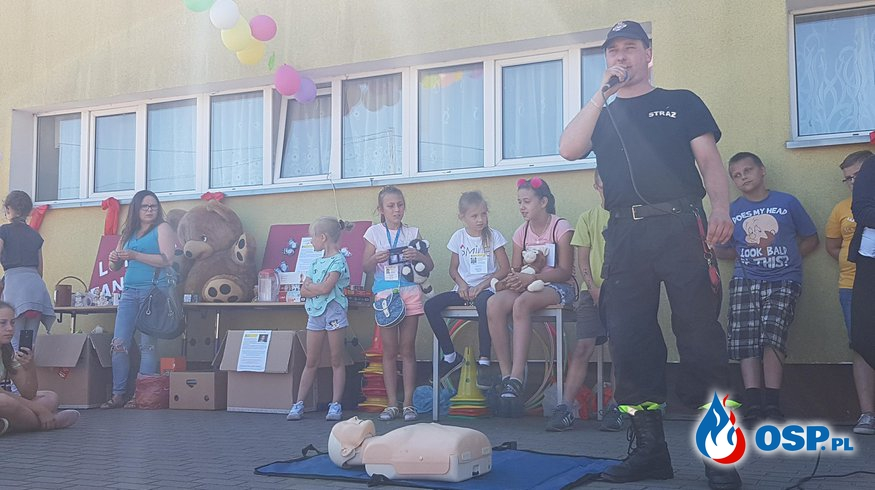 Prelekcja Szkoła Czarne Dolne 2018 OSP Ochotnicza Straż Pożarna